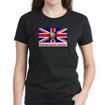 I'M BACKING BORIS Women's Dark T-Shirt