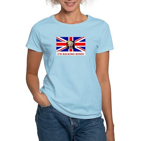 I'M BACKING BORIS Women's Light T-Shirt