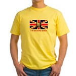 I'M BACKING BORIS Yellow T-Shirt