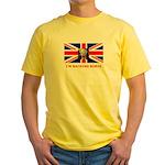 I'M BACKING BORIS Yellow T-Shirt