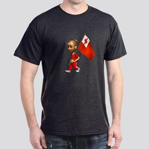 Tonga Girl Dark T-Shirt