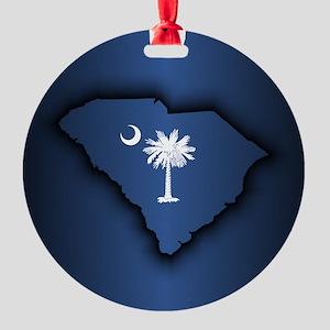 South Carolina (geo) Ornament