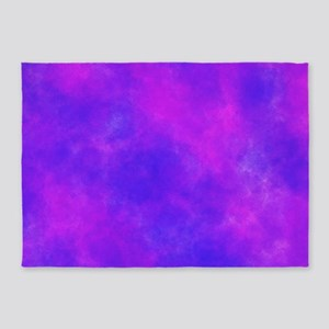 Purple 5'x7'Area Rug