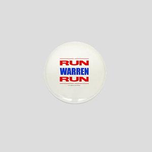 Run Warren Run RBW Mini Button