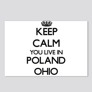 Keep calm you live in Pol Postcards (Package of 8)