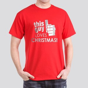 This Guy Loves Christmas! T-Shirt