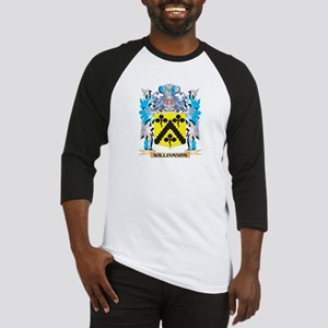 Williamson Coat of Arms - Family C Baseball Jersey