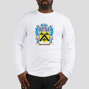 Williamson Coat of Arms - Fami Long Sleeve T-Shirt