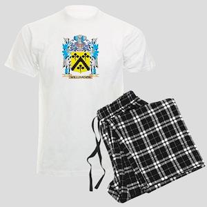 Williamson Coat of Arms - Fam Men's Light Pajamas