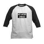 'No More Chemo' Kids Baseball Jersey