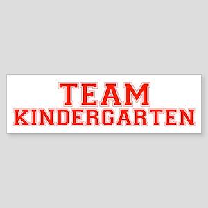 Team Kindergarten Bumper Sticker