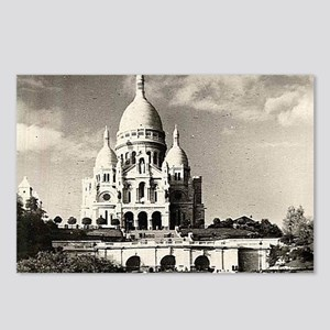 Sacré-Coeur de Montmartre Postcards (Package of 8)