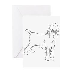 Spinone Italiano Sketch Greeting Card
