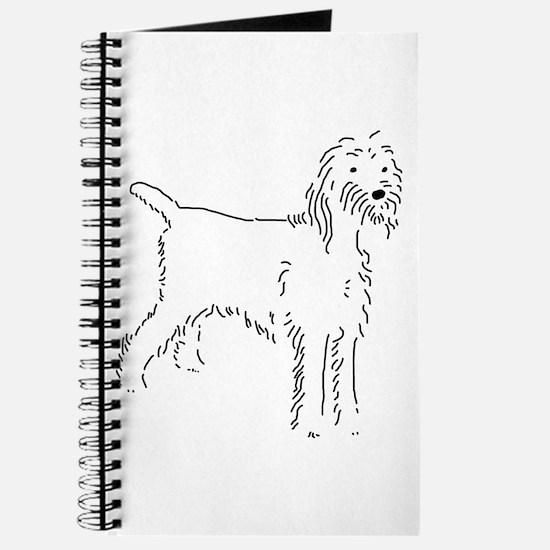 Spinone Italiano Sketch Journal