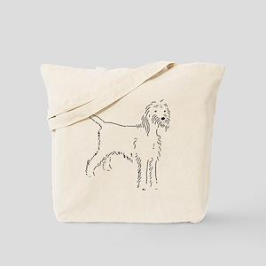 Spinone Italiano Sketch Tote Bag