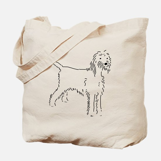 Spinone Italiano Sketch Tote Bag