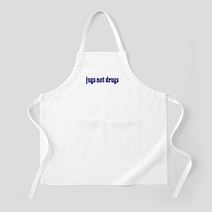 Jugs Not Drugs (Breast) BBQ Apron