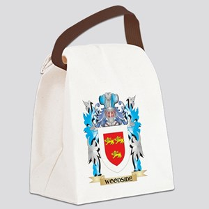 Woodside Coat of Arms - Family Cr Canvas Lunch Bag