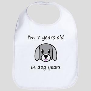 1 dog years 2 Bib