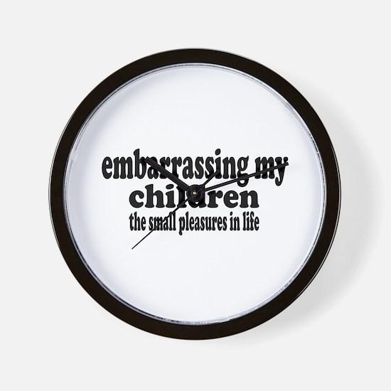 Embarrassing My Children Wall Clock