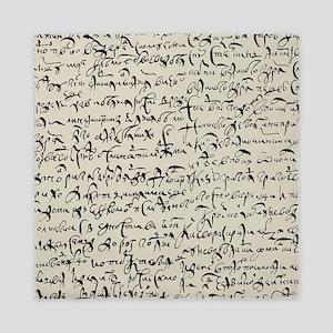 Ancient Manuscript Queen Duvet