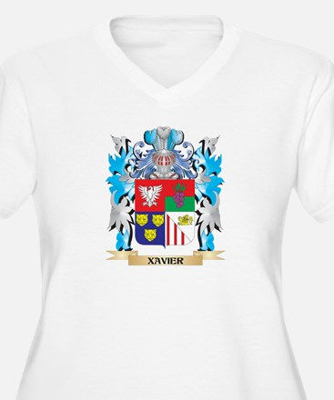 Xavier Coat of Arms - Family Cre Plus Size T-Shirt