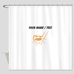 Custom Slapshot Shower Curtain