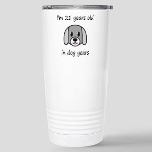 3 dog years 2 Travel Mug