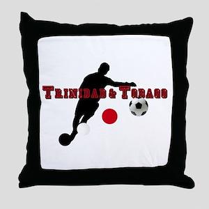 Trinidad Tobago Football Throw Pillow