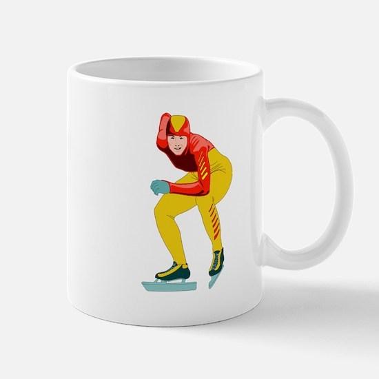 Speed Skater Mugs