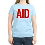 Aid (red) Women's Light T-Shirt