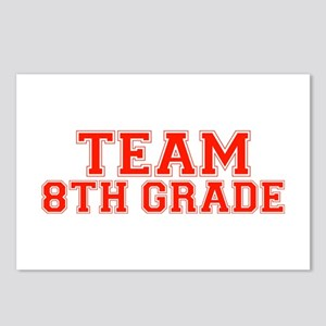 Team 8th Grade Postcards (Package of 8)