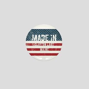 Made in Clayton Lake, Maine Mini Button