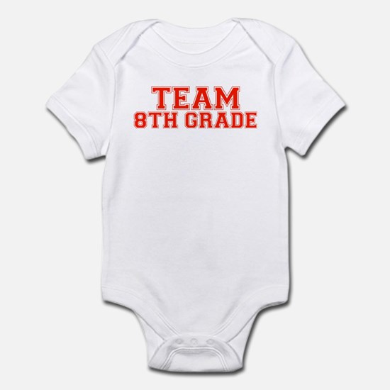 Team 8th Grade Infant Bodysuit
