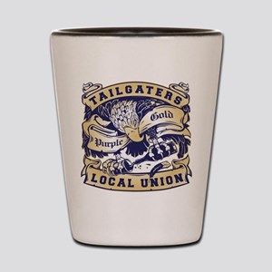 Tailgaters Local Union Shot Glass