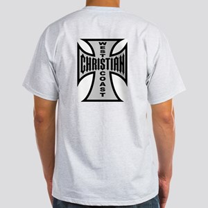 Basic West Coast Christian Ash Grey T-Shirt
