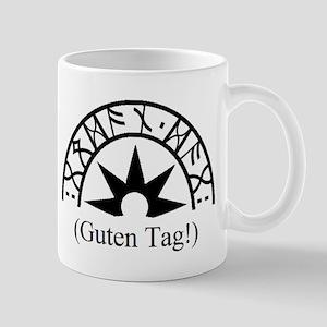 Guten Tag sunburst Mugs