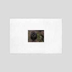 Kona the rescue dog 4' x 6' Rug
