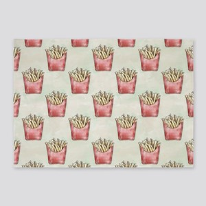 Extra Fries 5'x7'Area Rug