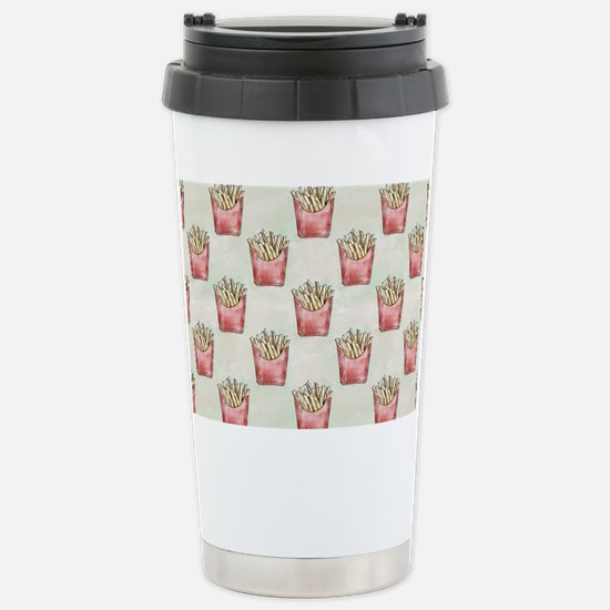 Extra Fries Stainless Steel Travel Mug
