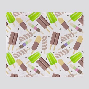 Popsicle Crowd Throw Blanket
