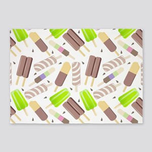 Popsicle Crowd 5'x7'Area Rug