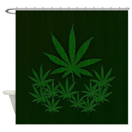 Marijuana / Weed Design Shower Curtain
