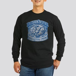 Blue and Silver Tailgaters Union Long Sleeve T-Shi