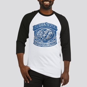 Blue and Silver Tailgaters Union Baseball Jersey