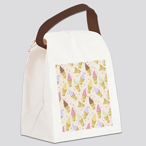 Cone Crowd Canvas Lunch Bag