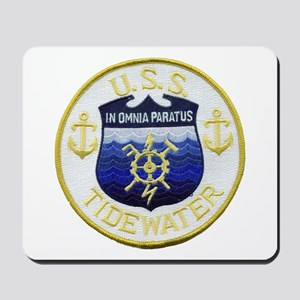 USS TIDEWATER Mousepad