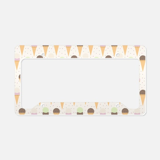 Extra Sprinkles License Plate Holder