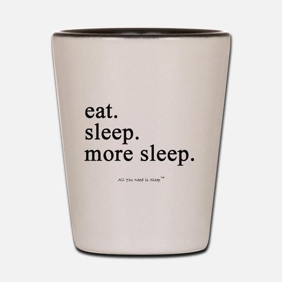 Funny Sleep Shot Glass