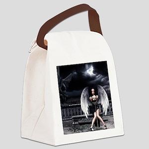 Fallen Angel Canvas Lunch Bag